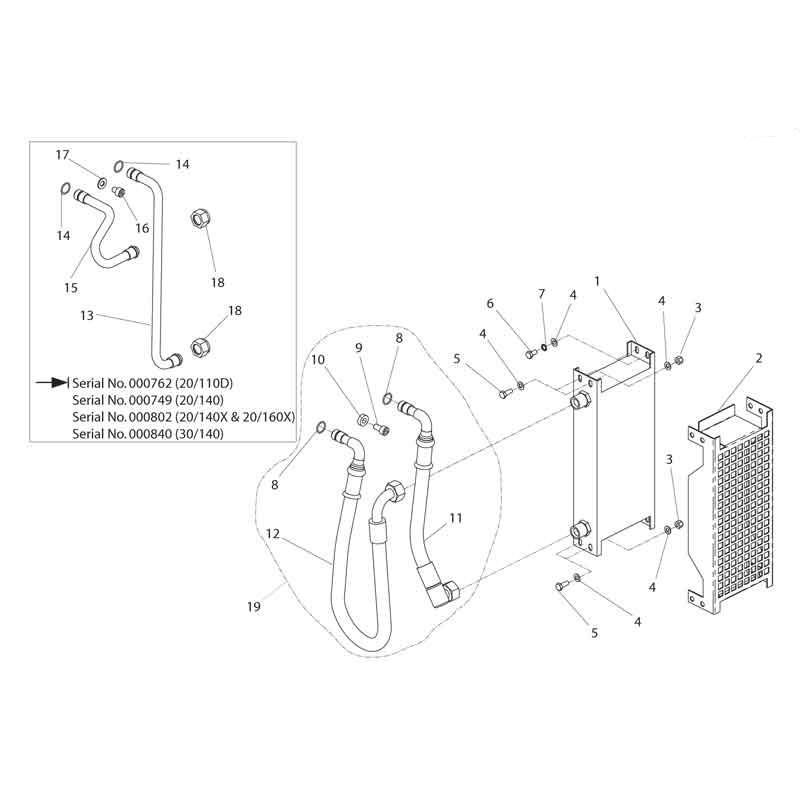 HPP08 Major30 140 Cooler Parts 03-09