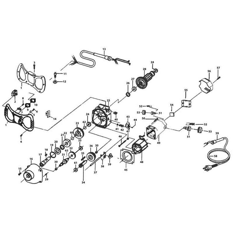 concrete mixer diagram